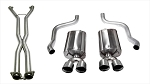 C6 Corvette 2009-2013 Corsa Performance Sport Cat-Back Exhaust System w/ Twin 3.5in Polished Tips