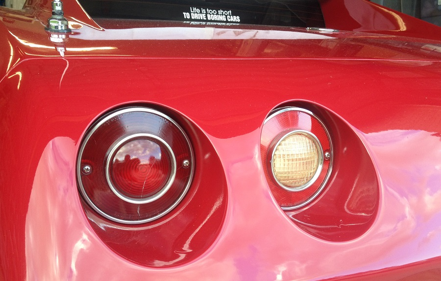 C3 Corvette 1974-1979 Tail Lights and Back Up Lights