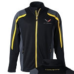 C7 Corvette Stingray 2014+ Mens Colorblock Jacket