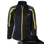 C7 Corvette Stingray 2014+ Ladies Colorblock Jacket