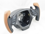 C7 Corvette Stingray/Z06/Grand Sport 2014+ Ergonomic Steering Wheel w/ Two Tone Leather - Color Selection