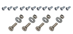 C2 Corvette 1963-1967 Side Seat Hardware Set - 20pc