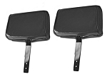 C2 Corvette 1966-1967 Leather Headrests - Pair