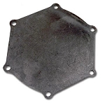 C2 Corvette 1965 Water Pump Back Plate