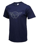 C5 Corvette 1997-2004 Splat T-Shirt - Navy Blue