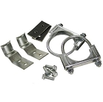 C3 Corvette 1975-1979 Dual Center Exhaust Hanger Bracket Kit