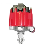 C3 Corvette 1968-1982 Proform Small Block HEI Electronic Racing Distributor w/ Coil - With Mechanical Lockout (No Vac Adv)