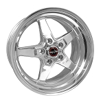 C4 C5 Corvette 1984-2004 Race Star Industries 92 Style Drag Star 4 Wheel Set - 17x9.5