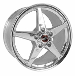 C5 C6 Corvette 1997-2013 Race Star Industries 92 Style Drag Star 4 Wheel Set - 18x8.5