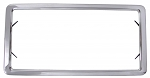 C3 Corvette 1963-1972 OE-Style Stainless Steel License Plate Frame