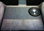 C4 Corvette 1984-1996 Storage Bin Subwoofer Box
