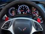C7 Corvette Stingray/Z06/Grand Sport 2014-2019 GM Grand Sport Style Red or Yellow Paddle Shifters