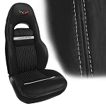 C5 Corvette 1997-2004 Accent Stitch Leather Seat Covers - Sport Seat