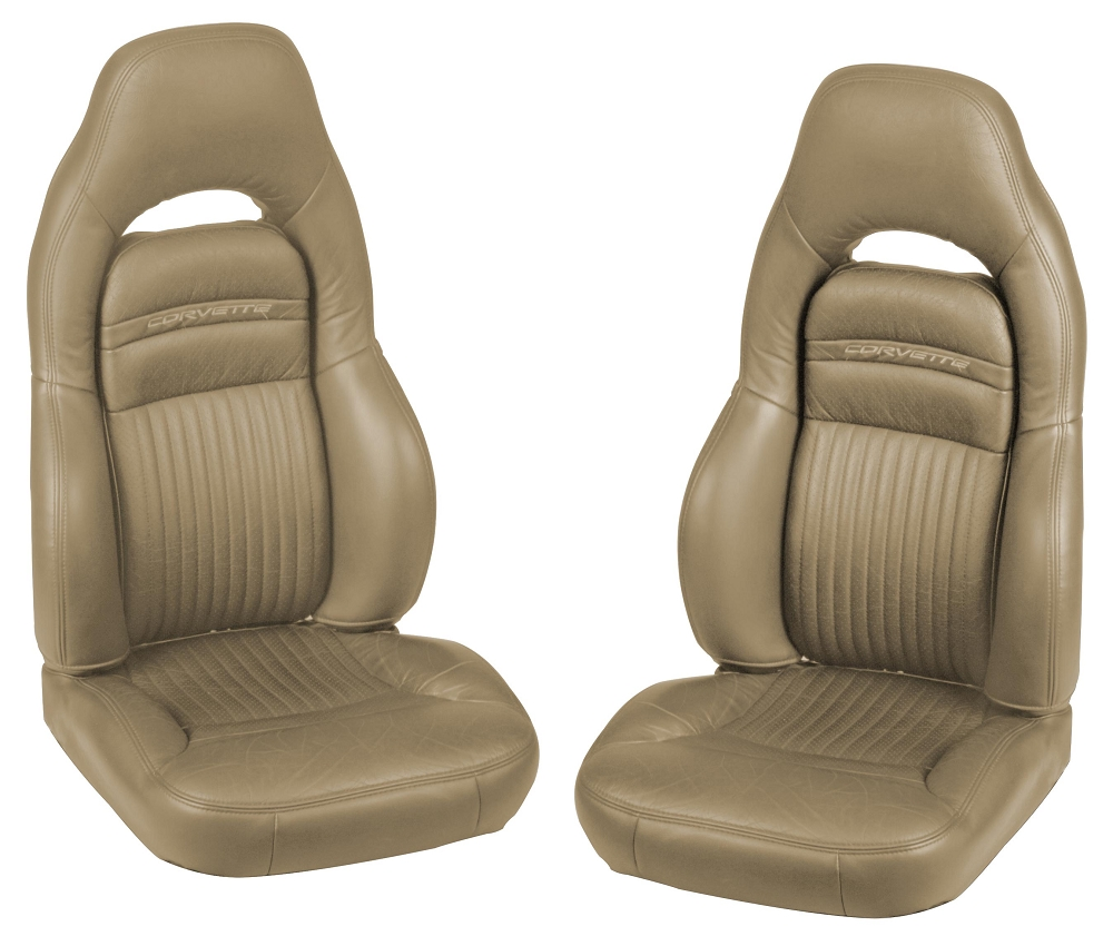 C5 Corvette 1997 2004 OE Style Leather Seat Covers