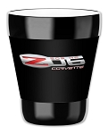 C6 Corvette Z06 2006-2013 Logo Tumbler w/ Removable Insulated Cover - 12oz & 16oz Options