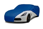 Indoor Semi-Custom Car Cover - Blue