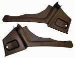 C3 Corvette 1974-1977 Coupe Interior Rear Quarter Panels - Pair