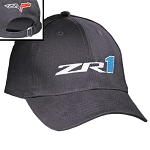 C6 Corvette ZR1 2009-2013 Semi-Structured Embroidered Logo Cap