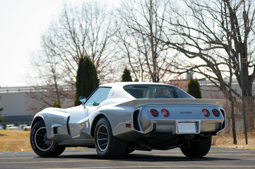 C3 Corvette 1975-1979 ACI Fiberglass Wide Body GT Quarter
