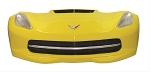 C7 Corvette Stingray 2014+ Front End Wall Decor w/ Working Lights - Yellow