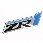 C6 Corvette 2009-2013 Domed Supercharged ZR1 Emblem