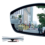 C2 C3 C4 C5 C6 C7 Corvette 1963-2014+ Adjustable Slim Square Blind Spot Mirrors - Set of 2