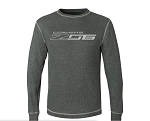C7 Corvette Z06 2014+ Vintage Thermal Long Sleeve Shirt w/ Corvette Z06 Script