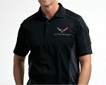C7 Corvette Stingray / Z06 / Grand Sport 2014+ Performance Colorblock Polo - Color Selection