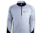 C7 Corvette 2014+ Quarter Zip Performance Pull-Over w/ Corvette Script / Z06 Logo Options