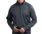 C7 Corvette 2014+ Tech Fleece Quarter-Zip Pull Over