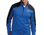 C7 Corvette 2014+ Grand Sport Under Armour Quarter-Zip Sweater - Blue