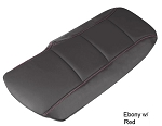 C6 Corvette 2005-2013 Accent Stitched Leather Console Cushions