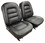 C2 Corvette 1963-1967 Leather Seat Covers - Sold in Pairs