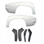C2 Corvette 1963-1967 Widened Quarter Panel Kit - 1.5in Wider
