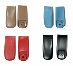 C2 Corvette 1966-1967 Shoulder Harness End Covers - OE Colors - Pair