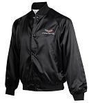 C6 Corvette 2005-2013 Satin Jackets - Black