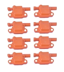 C5 C6 Corvette 1997-2013 Orange LS Ignition Coils - 8 Pack
