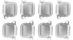 C4 C5 C6 Corvette 1984-2013 L98 / LS1 / LS3 Billet Ignition Coil Cover - 8 Pack