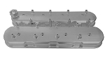 C4 C6 Corvette 1984-1996 & 2005-2013 L98 / LS2 / LS3 / LS7 Billet Valve Cover w/ OEM Height Ignition Coil Posts