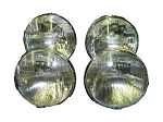 C3 Corvette 1968-1982 Correct Reproduction Sealed Beam Headlight Bulb Set - 4pc