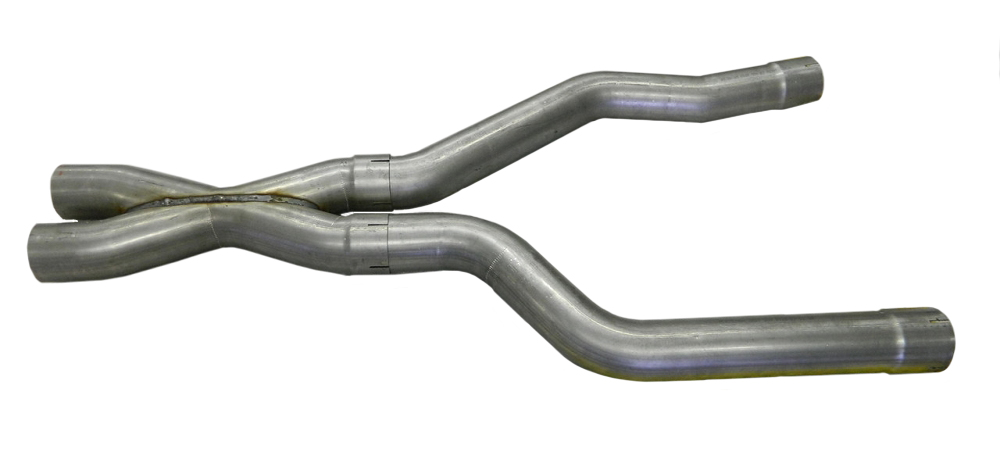Quick View  sc 1 st  Corvette Mods & C4 Corvette 1984-1996 Exhaust Adapter Tubes and X-Pipe | Corvette Mods