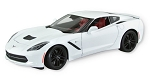 C7 Corvette Stingray/Z51 2014 Diecast Model - White - 1:18 Scale