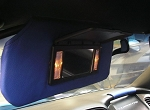 C5 Corvette 1997-2004 Leather Sunvisor Covers - Two Tone