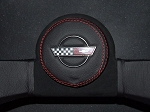 C4 Corvette 1984-1989 Carbon Fiber Vinyl Horn and Hub Cover