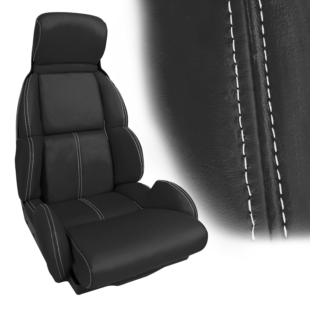 C4 Corvette 1991-1993 Accent Stitched Leather Seat Cover ...