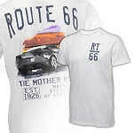 C6 Corvette 2005-2013 Watercolor Route 66 T-Shirts