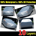 Corvette 1963-2019 Soft Aluminum 10-Layer Outdoor/Indoor Car Cover - Waterproof & UV Resistant
