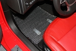 C7 Corvette 2014-2019 Lloyds Clear Protector Mats - 2pc Fronts