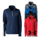 C7 Corvette 2014+ Ladies Under Armour Qualifier Quarter Zip Jacket - Available in 5 Different Colors