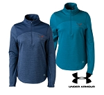 C7 Corvette 2014+ Ladies Under Armour Expanse Quarter Zip Jacket - Available in Blue or Teal